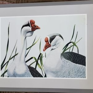 Pimpernel Duo Geese place Made in England